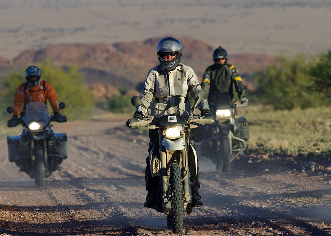Boek nu je motorreis avontuurlijk Afrika door Zuid-Afrika en Namibie van Seven Summits GS Motorreizen