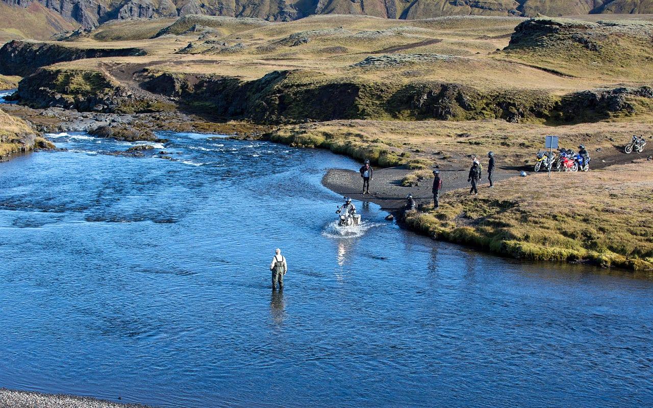 Motortreis IJsland van Seven Summits.GS Motorreizen