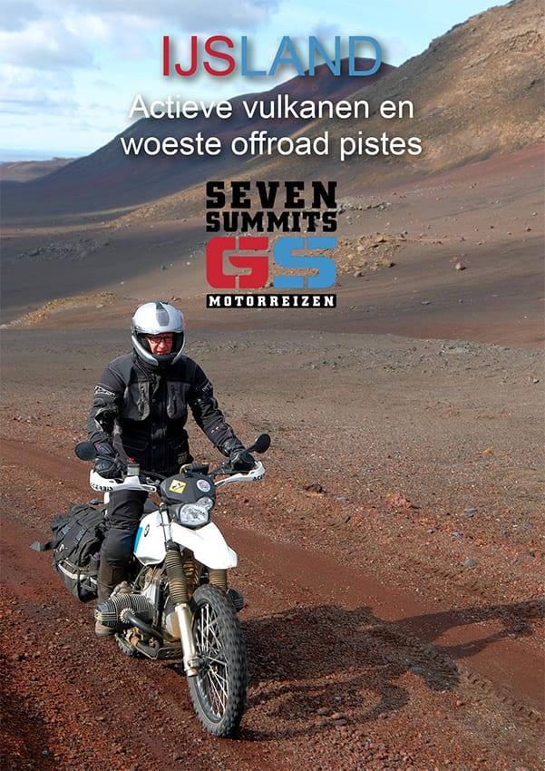 Download de brochure van de motorreis Offroad Ijsland van seven Summits GS Motorreizen