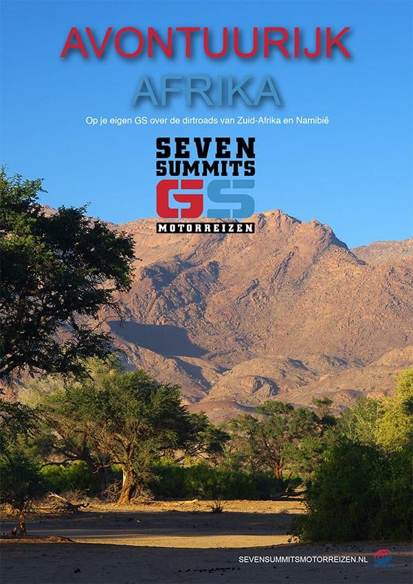 Downlaod de brochure van de motorreis Avontuurlijk Afrika van Seven Summits GS Motorreizen