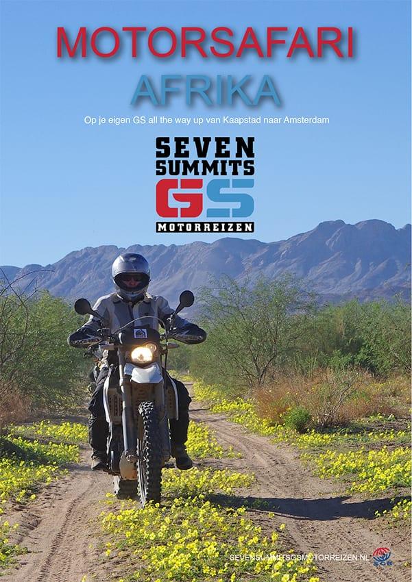 Download de brochure van onze motorsafari Afrika