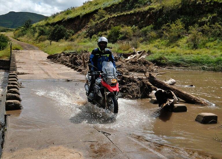 MotorreisZuid-Afrika Die Hel