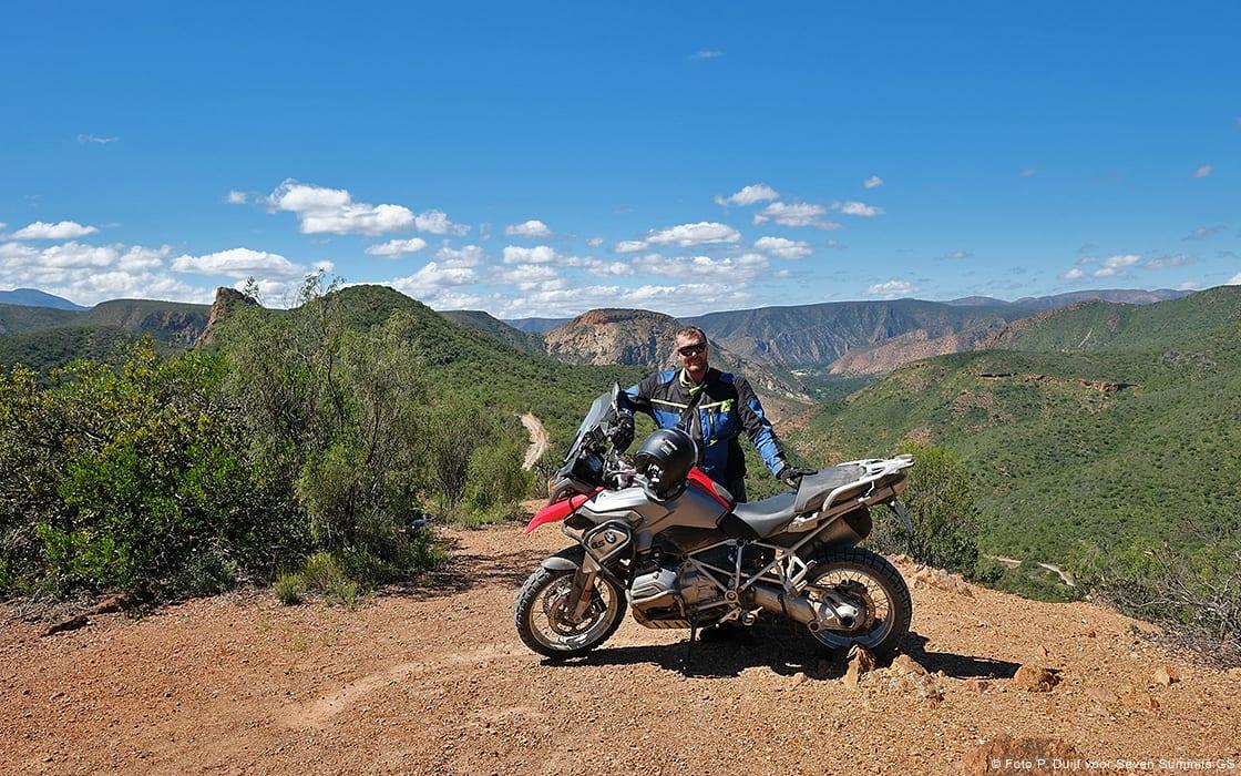Beeldverslag van de motorreis Zuid-Afrika maart 2018 van Seven Summits.GS motorreizen
