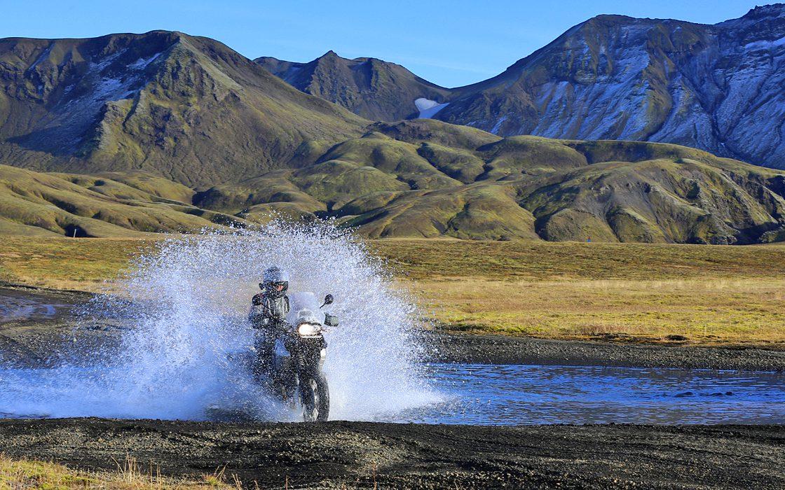 Motorreis Ijsland van Sevenb Summits.GS Motorreizen
