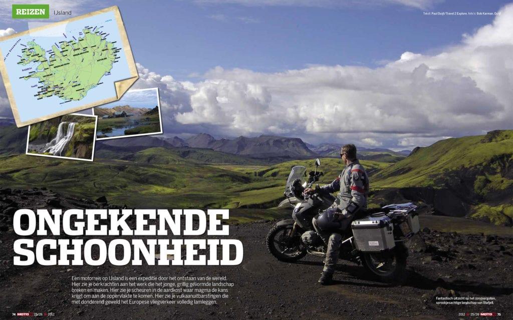 Foto 1 uit het fotoboek van de motorreis offroad IJsland van Seven Summits GS Motorreizen.
