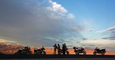 Motorreis USA op de BMW GS motor naar Mount Evans